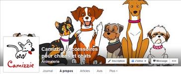 Camizzie - Accessoires pour chiens et chats