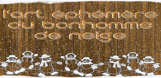 http://toutoblog.unblog.fr - l'art éphémère du bonhomme de neige