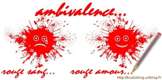 http://toutoblog.unblog.fr - ambivalence, rouge sang, rouge amour