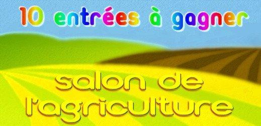 Kool - entrées gratuites pour le Salon de l'Agriculture 2015