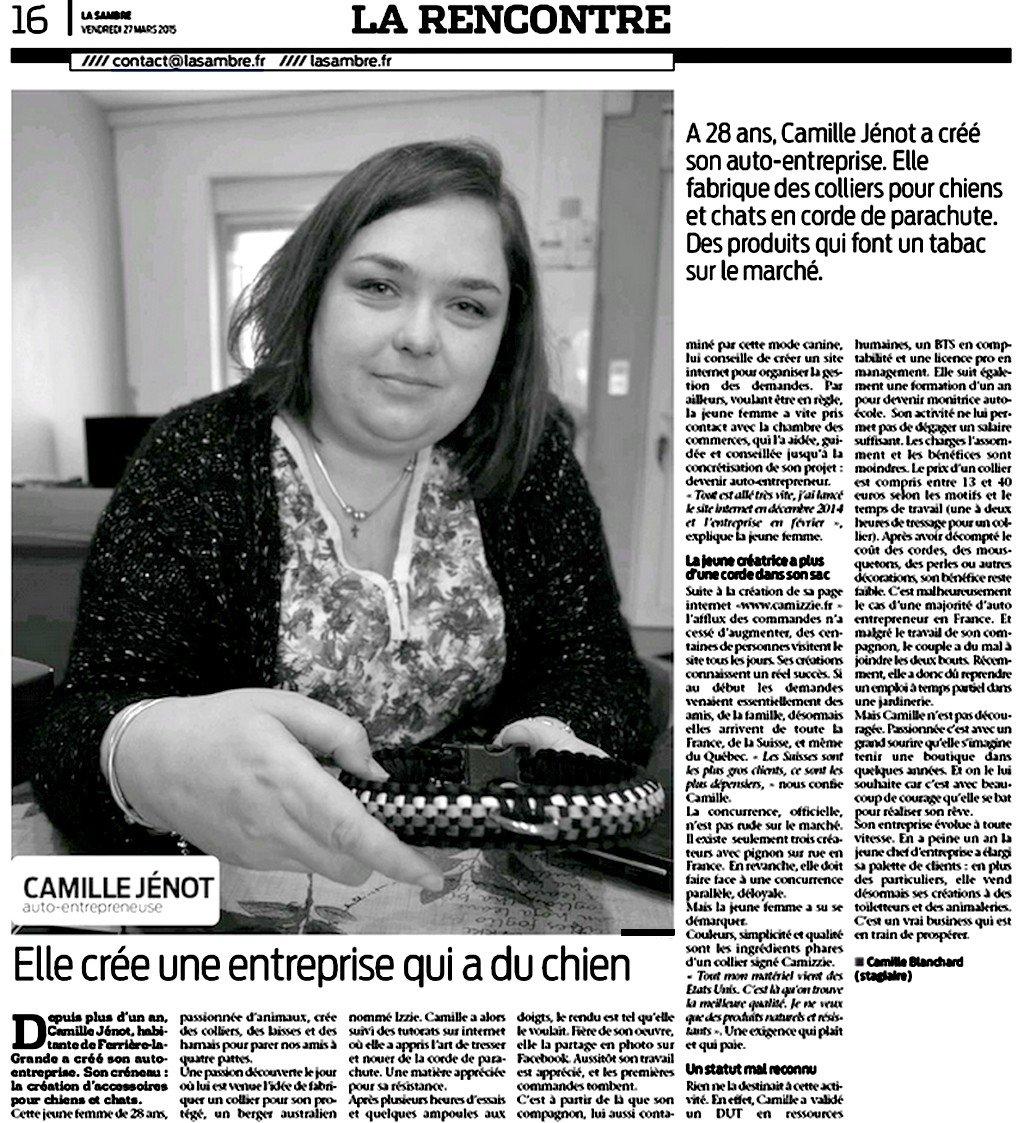 Camizzie - La Sambre