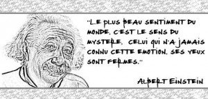 Citation d'Albert Einstein - toutoblog.unblog.fr
