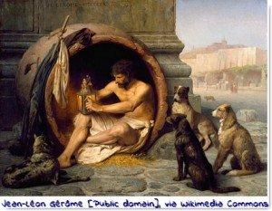 Diogène via #toutoblog.unblog.fr