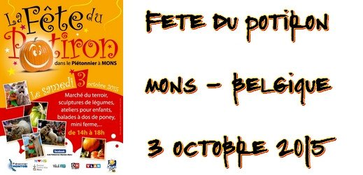 Fête du potiron à Mons via #toutoblog.unblog.fr