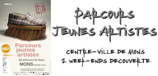 Parcours Jeunes Artistes - Mons - via #toutoblog.unblog.fr