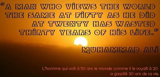 Citation Muhammad Ali via #toutoblog.unblog.fr