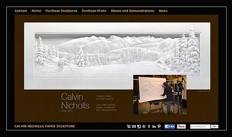 Le site de #CalvinNicholls via #toutoblog.unblog.fr