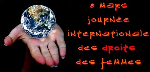 8 mars - journée internationale des droits des femmes via #toutoblog.unblog.fr