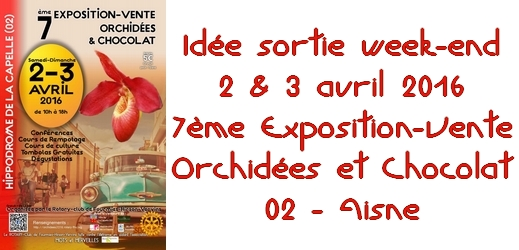 Expo-Vente Orchidées et Chocolat à La Capelle via #toutoblog.unblog.fr
