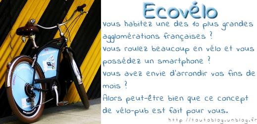 Ecovelo via #toutoblog.unblog.fr