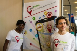 #OptiMiam - les cofondateurs via #toutoblog.unblog.fr